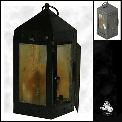 £38 • Buy Working Medieval Lantern 8 Inch Perfect For Stage, Costume & Re-enactment