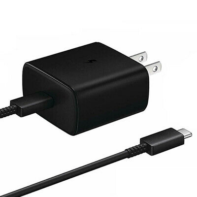 AU20.36 • Buy 45W Super Fast Wall Charger Adapter USB-C+3.2FT Cable For Samsung Galaxy Note 10