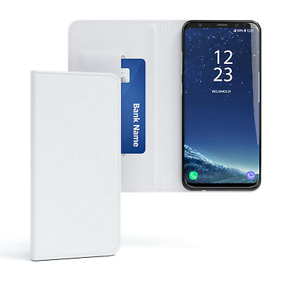$ CDN10.46 • Buy Case For Samsung Galaxy S8 Plus Cover Phone Case Wallet White