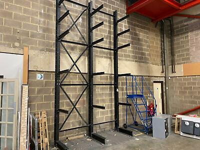 £720 • Buy CANTILEVER DOUBLE BAY RACKING STORAGE SYSTEM (Brentwood Branch)