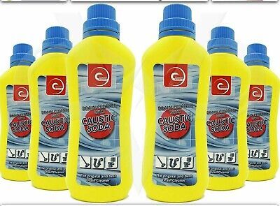 £11.99 • Buy 6x Caustic Soda Drain Cleaner Homecare Heavy Duty Cleaner Free Postage