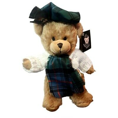 £34.95 • Buy SCOTTISH FAMILY Tartan ARMSTRONG TEDDY BEAR Handmade By RONNIE HEK Collectable