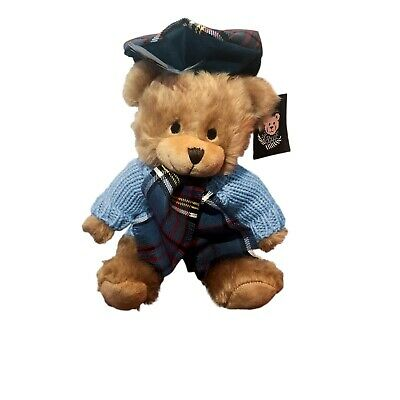 £34.95 • Buy SCOTTISH FAMILY Tartan ANDERSON TEDDY BEAR Handmade By RONNIE HEK Collectable