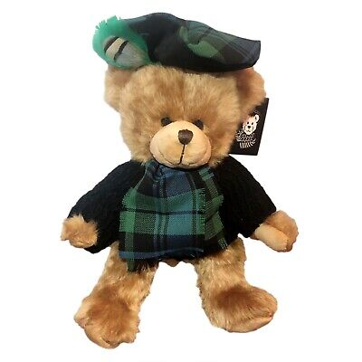 £34.95 • Buy SCOTTISH FAMILY Tartan CAMPBELL TEDDY BEAR Handmade By RONNIE HEK Collectable