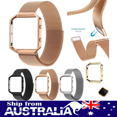 AU10.99 • Buy Replacement Milanese Stainless Steel Watch Band Wrist Strap For Fitbit Blaze Xi