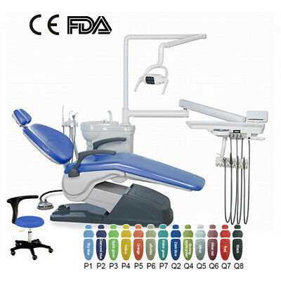 £1331.26 • Buy Dental Unit Chair Computer Controlled Hard Leather &Stool /Folding Chair 4 Types