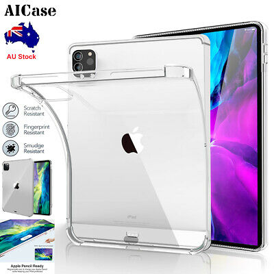 AU13.95 • Buy For IPad Pro 11 12.9 2021 2020 Slim Case Shockproof Clear TPU Protective Cover