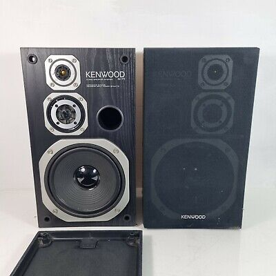 AU107.66 • Buy Kenwood S-71 Pair Of 3 Way Hi-Fi Stereo Speakers Floorstanding 8ohm 80w.