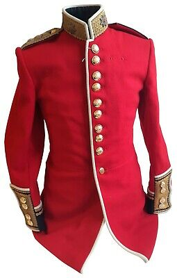 £535 • Buy Genuine-Military - RHQ Coldstream Guards Tunic Officer - Captain - Grade 1 -SS85