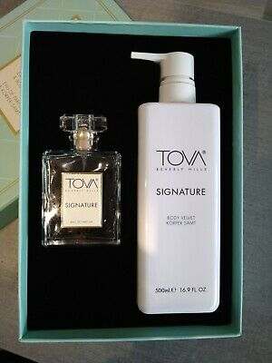 £36.95 • Buy  TOVA Signature Set, EAU De Parfum 100ml&Body Lotion 500ml Geschenkset, Neu