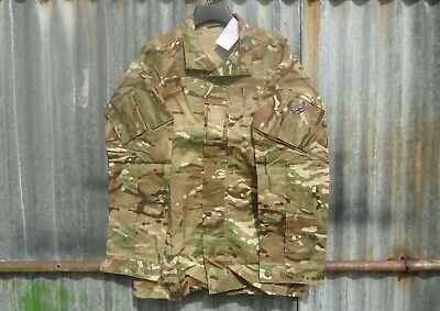 £8.50 • Buy New British Army Issue Mtp Camo Pcs Warm Weather Combat Shirt 180/104 Large / Xl