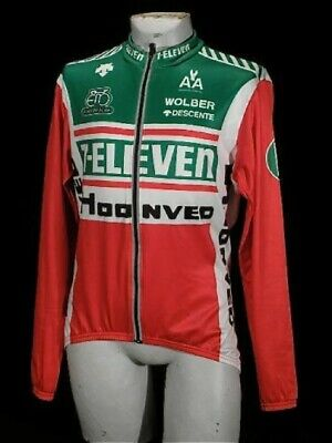 AU352.32 • Buy 7-Eleven Descente Seven-Eleven Thermal LS Jersey Thermal Jersey Long Sleeve L