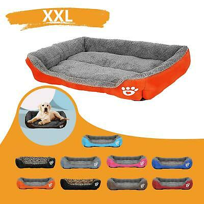 XXL Extra Large Dog Beds Pet Cushion House Waterproof Soft Warm Kennel Blanket • 11.99£