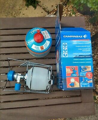 Camping Gaz C270 Lantern + Full Gas Bottle. • 22.50£
