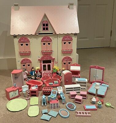 £50 • Buy ELC Dolls House Furniture & Family Dolls Accessories