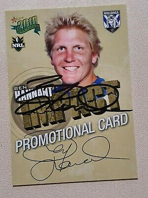 AU3.80 • Buy Signed Ben Hannant 2010 Bulldog Champions Impact Promotonal Card (is6)