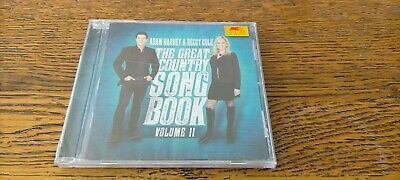 AU9.95 • Buy ADAM HARVEY & BECCY COLE The Great Country Songbook Volume II CD NEW SEALED Vol2