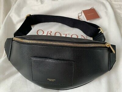 AU70 • Buy Oroton Belt Bag & Crossbo Black Brand New With Tag Genuine Leather
