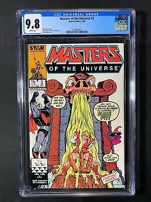 $164.99 • Buy Masters Of The Universe #3 CGC 9.8 (1986) - He-Man