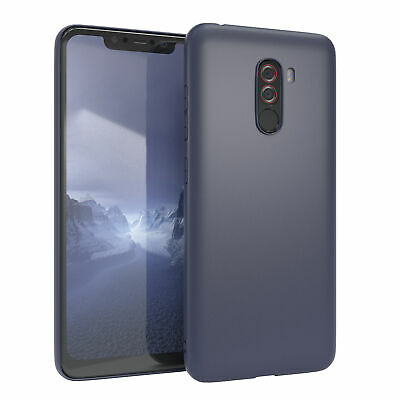 $ CDN6.18 • Buy For Xiaomi POCOPHONE F1 Case Silicone Cover Protection Bag Slim Matte Blue