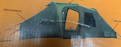 AU126.41 • Buy NEW & Boxed Adventuridge Green 4 Man Tent With Two Sleeping Compartments