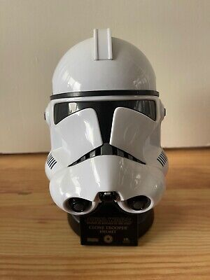 £89.99 • Buy Master Replicas Star Wars Clone Trooper .45 Scaled Helmet- Excellent Condition