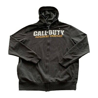 £17.70 • Buy Call Of Duty Advanced Warfare Logo Video Game Zip Hoodie Sweatshirt Large