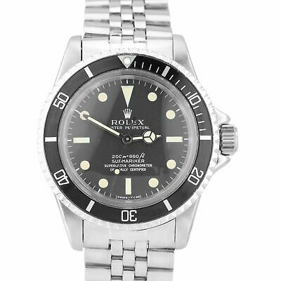 $ CDN27894.48 • Buy Vintage 1967 Rolex Submariner 5512 NEAT FONT 1.6xx METERS FIRST Patina Watch