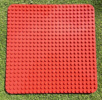 £11.95 • Buy Lego Duplo Base Board / Plate Red Large 24 X 24 Studs Baseplate