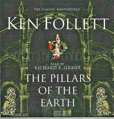 £6 • Buy Ken Follett - The Pillars Of The Earth - CD Audiobook - 2007 - UK FREEPOST