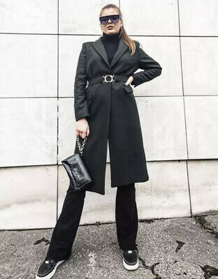 £80 • Buy Zara Aw2021 Limited Edition Belted Coat With Buckle Size Xl Bloggers Bnwt Trinny