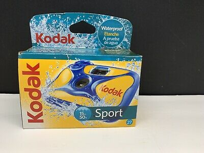£13.48 • Buy Kodak Underwater Disposable Camera Sport Waterproof 35mm Film 27 EXP 7/2011