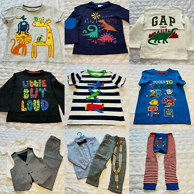 Boys 2-3yrs Trousers, Jumpers, Jackets, Tops, T-Shirts - Choose Your Bundle!! • 1.50£
