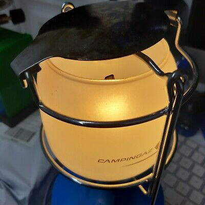 Camping Gaz Bleuet CV270 Gas Light, Vintage Lantern Boxed • 16.99£