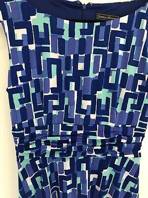 £23 • Buy Ladies Jessica Howard Dress Mixed Blue And Green Tones Size UK 14