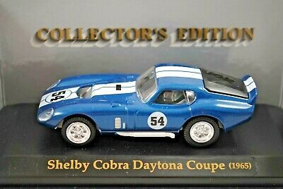 £19.65 • Buy TOYWAY 1:43 Detailed 1965 SHELBY COBRA DAYTONA COUPE Collectors Edition Car MIB