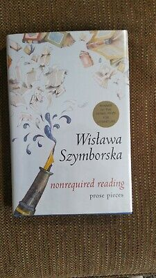 Nonrequired Reading By Wislawa Szymborska Signed 1st Edition/1st Printing • 240.38£