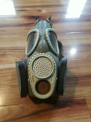 $50 • Buy Vintage US Military Rubber Protective Filter Mask Nice! Army Marines