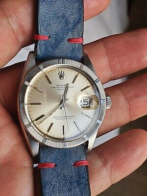 AU2219.07 • Buy ROLEX DATE Oyster Perpetual 34mm - 1501 - Engine Turned Bezel - Vintage