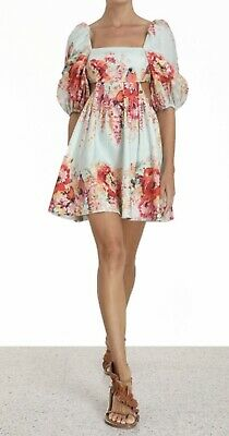 AU625 • Buy ZIMMERMANN NWT Mae Cut Out Mini Dress Size 0 Tag $650 (SOLD OUT!)