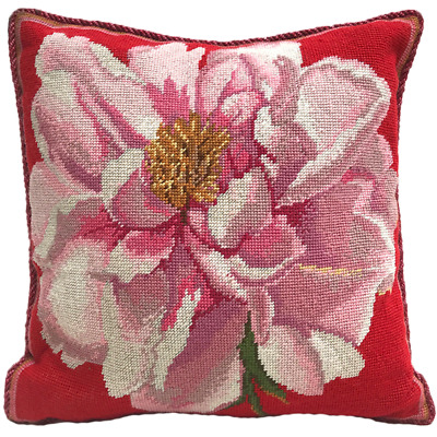 EHRMAN  Kaffe Fassett CORAL PEONY Tapestry Needlepoint Colour Paper Chart Only  • 22£