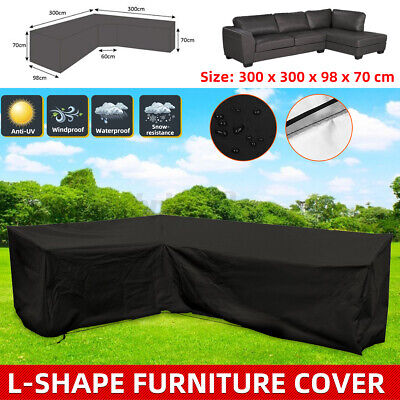 AU39.99 • Buy L Shape Waterproof Sofa Lounge Seat Furniture Cover Couch Outdoor Rain UV Covers
