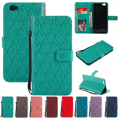 AU76.60 • Buy For OPPO A57 A59 Patterned Magnetic Leather Wallet Stand Card Slots Case Cover