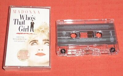 £6.99 • Buy Madonna - Uk Cassette Tape - Who's That Girl-original Motion Picture Soundtrack