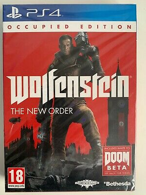 AU35.76 • Buy Sony Ps4 Wolfenstein The New Order Occupied Edition - NEW & SEALED