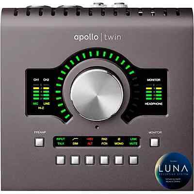 AU1659.74 • Buy Universal Audio Apollo Twin MKII MK2 UA NEW WO Box QUAD Thunderbolt 2
