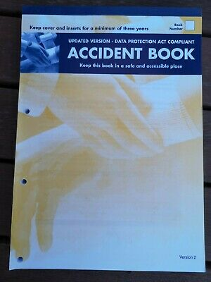 £3.99 • Buy Accident Report Book Hse Approved ,school, Office, Factory, Garage, Etc