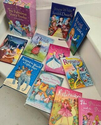 £10.99 • Buy Usborne Young Readers Ten Fabulous Story Books Learn To Read Boxset Collection
