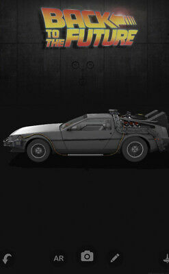 $28 • Buy VeVe DeLorean Time Machine 1:6 NFT Back To The Future Series