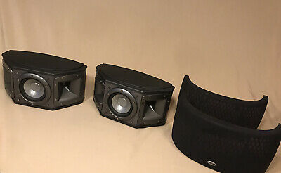 AU166.43 • Buy Klipsch Synergy S1 Surround Speakers (Pair) 50w 8 Ohm, Great Condition, Tested!
